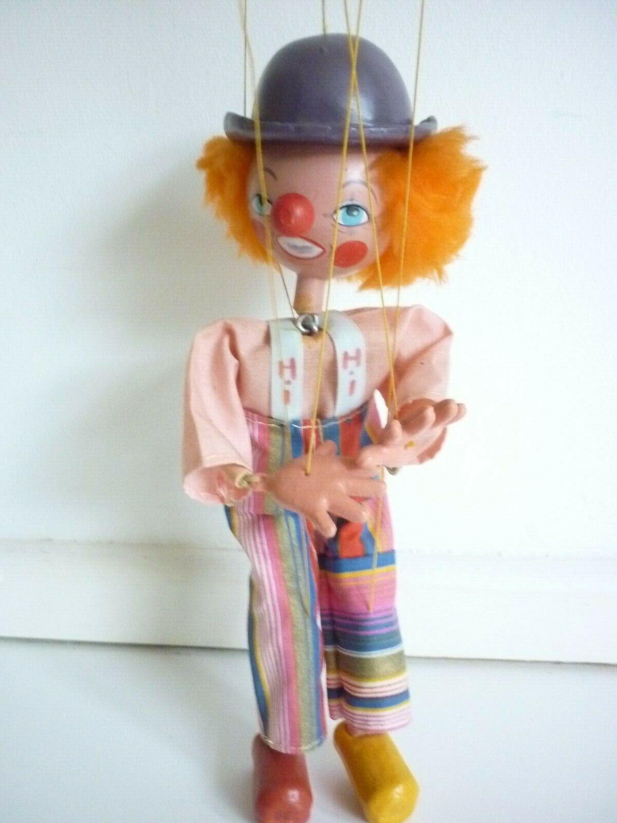 P T barnam Raro Pelham marioneta 1981 Musical Juguete de paladio al mejor Showman