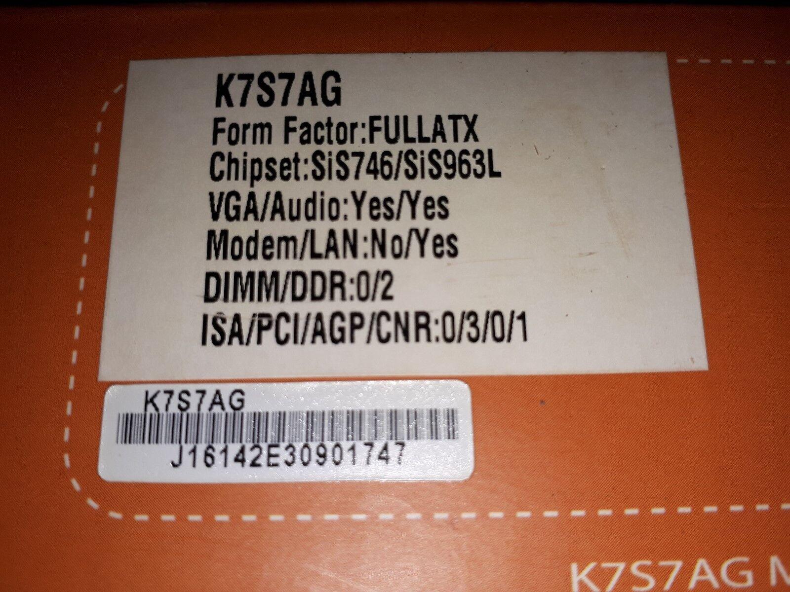 DRIVERS FOR K7S7AG VGA