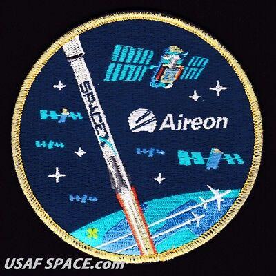 SPACEX FALCON 9 ORIGINAL SATELLITE Launch PATCH NEW Aireon Iridium NEXT 6