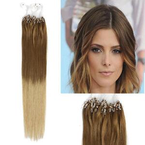 Image Is Loading 18 034 50g Micro Ring Beads Human Hair