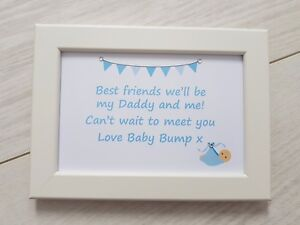 Image Is Loading Daddy Amp Me Frame Gift Present New Dad