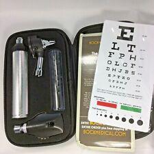 Ra Bock Otoscope Ophthalmoscope Kit Medical School Kit Ear Canal Zipper Case