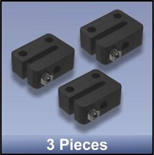 ANTI-BACKLASH DELRIN NUT (miniature) FOR CNC 8 mm M8 LEAD SCREW - 3 pieces