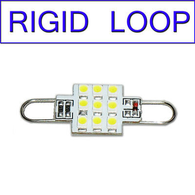 RGD-LP-B TWO BLUE x 44mm RIGID LOOP LED Bulbs RL4410-xHP9 12V