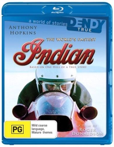 1 of 1 - The World's Fastest Indian (Blu-ray, 2009) : NEW