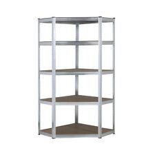 Galvanised Corner Shelvingracking Garage Storage Unit Shelves 150kg 1500mm H