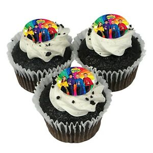 The-Wiggles-Edible-Cup-Cake-Icing-Images-12pk-35mm-The-Wiggles-Party-Supplies