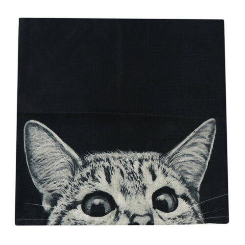 Cute Cat Dog Pillow Case Cartoon Animals Cushion Cover Sofa Home Decor G