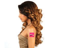 BS207 - ISIS Brown Sugar Human Hair Style Mix Soft Lace Wig LONG WAVY