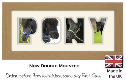 Pony Photo Frame Word Frame Picture Gift Photos in a Word