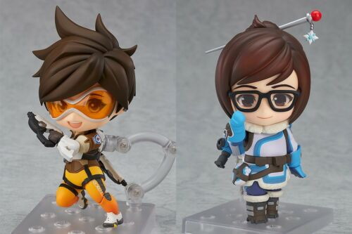 OVERWATCH Set Nendoroid #757 Mei /& #730 Tracer Classic Skin Edition AUTHENTIC