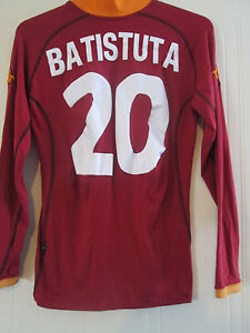 ropa de futbol ROMA manga larga