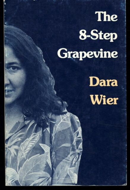 THE 8-STEP GRAPEVINE: Poems by Dara Wier  (Signed copy) PB