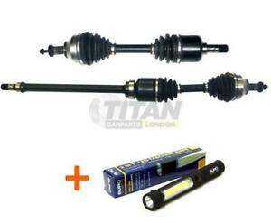 Complete Driveshaft CV Joint Front Left and Right Side Fits For Subaru