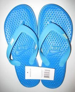 ec4ea3acaa88 Nike Flip Flops Solay Thong Sandals Blue Women s 8-9-10-11-12 New ...