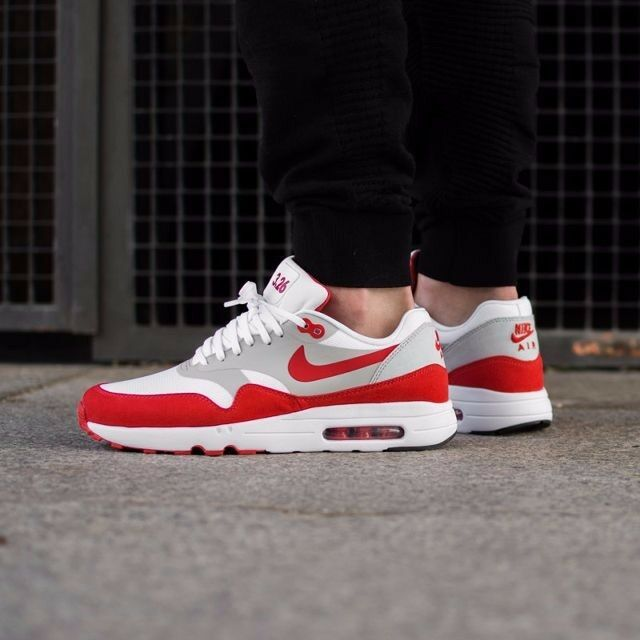 Size 6.5 - Nike Air Max 1 Ultra 2.0 LE White Red