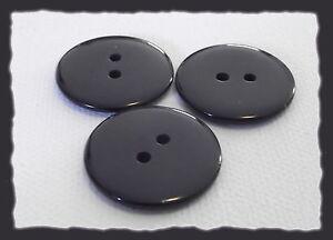 Boutons 6 deux trous BOUTONS 23 mm ROUGE BRILLANT