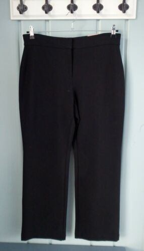 10 Medium Ultimate Black Carriera Fit Womens 1 Wide Leg Pantalone Dress Chicos 5 xRgBWqSWn0
