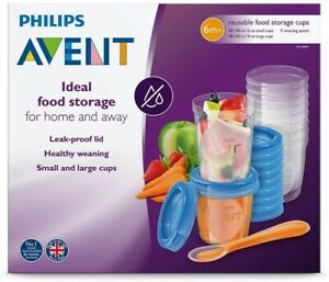 Philips-Avent-Baby-Food-Storage-Cups-180-240-ML-20-Pack-10-each-Spoon-Gik