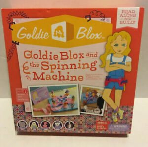 GoldieBlox and the Spinning Machine Book and Game Kids Toys Kids Books
