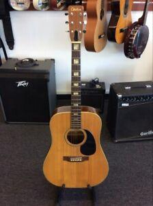 Citation Acoustic Guitar Made In Japan Cit7001 Lin021082 Ebay