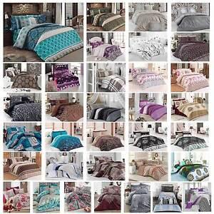 Housse-de-couette-taie-d-039-oreiller-coton-ensemble-de-literie-135x200cm-35-DESIGNS