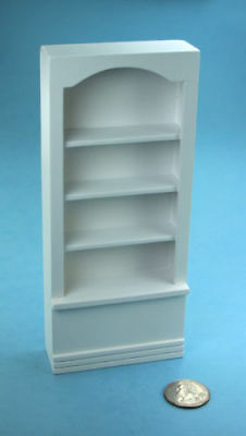 "dollhouse miniature furniture 1//12/"" scale T5259 wood BOOKCASE  White"