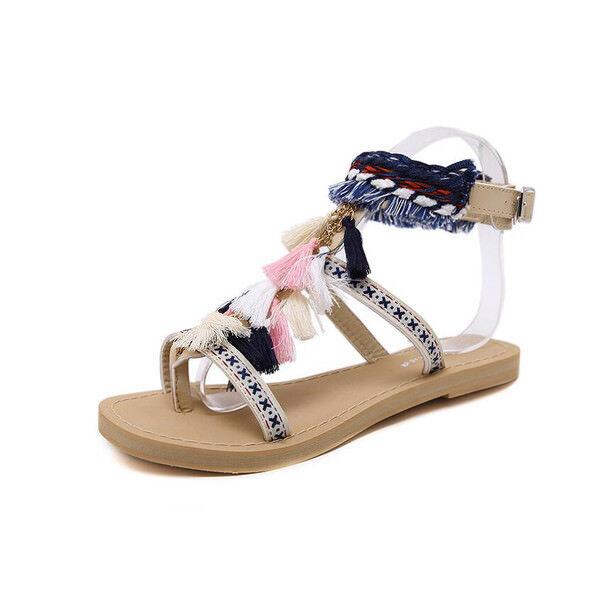 Sandali eleganti bassi  ciabatte colorati leggeri comodi simil pelle  9926