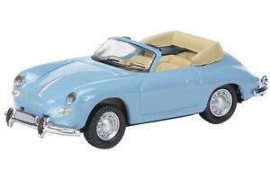 Porsche 356 Cabrio blau Art.-Nr. 452627800, Schuco H0 1:87