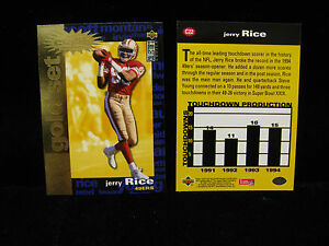 1995-Jerry-Rice-49ers-Collectors-Choice-Gold-Card-C22