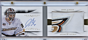 2013-14-PANINI-NATIONAL-TREASURES-BOOKLET-RC-PATCH-AUTO-JOHN-GIBSON-03-25-RB-JGI