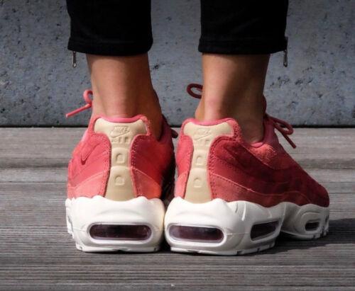 Prm Max 807443801 5 5 Eu Stardust Premium Nike Womens Trainers Uk Red 95 38 Air qpnPSt