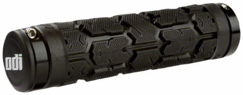 ODI Rogue Lock-On Grips Black Bonus Pack Includes Grips Lock Jaws Snap Caps
