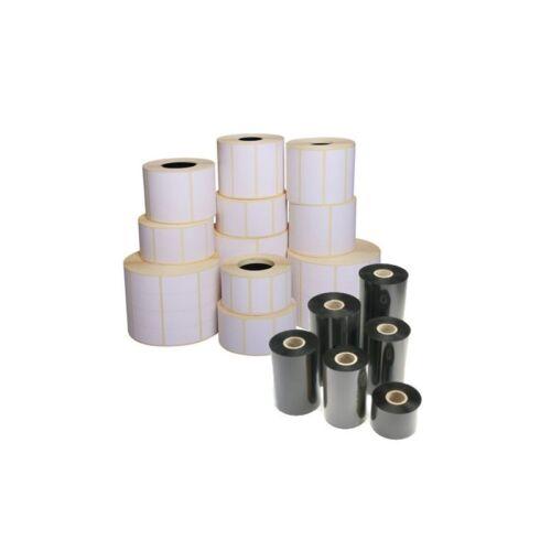 Details about  /Rotolo da 700 etichette adesive mm 57x76 Carta Vellum 1 pista anima 40