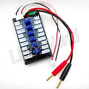 6x-EC2-2S-3S-4S-XH-parallel-Lade-Balancer-Board-Adapter-Lipo-Akku-imax-Modellbau