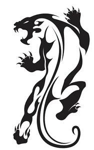2d6370ae3cf6e Nr18) TRIBAL TATTOO TIGER JAGUAR PANTHER DECAL VINYL STICKER WINDOW ...
