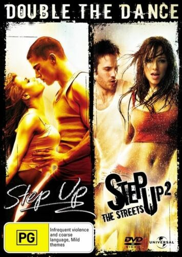 1 of 1 - Step Up / Step Up 2 - The Streets (DVD, 2008, 2-Disc Set)