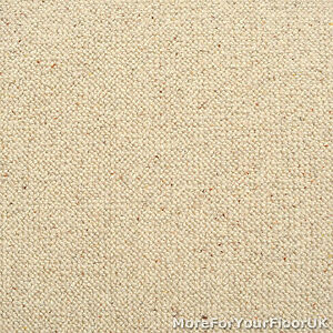 100 Wool Berber Carpet Cream Beige Quality Loop Ebay