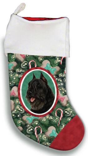 Bouvier des Flandres Christmas Stocking