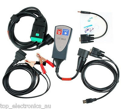 Car Diagnostic Tool Scanner Interface