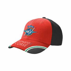 GENUINE-MV-AGUSTA-REPARTO-CORSE-BASEBALL-CAP-HAT-2019