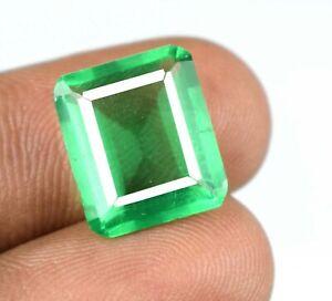 7.60 Ct Muzo Colombian Emerald Natural Gemstone emerald Cut AGI Certified A27988