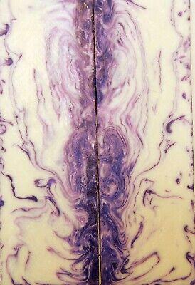 "1 1//2/"" x 1 1//2/"" x 12/"" Spindle Deep Purple Acrylester #04"