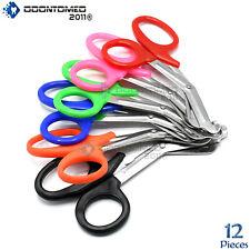 Odm 12 Emt Shears Scissors Bandage Paramedic Ems Supplies 725