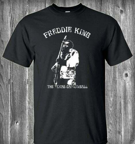 Freddie King Guitar T Shirt Funny Cotton Tee Vintage Gift For Men Women