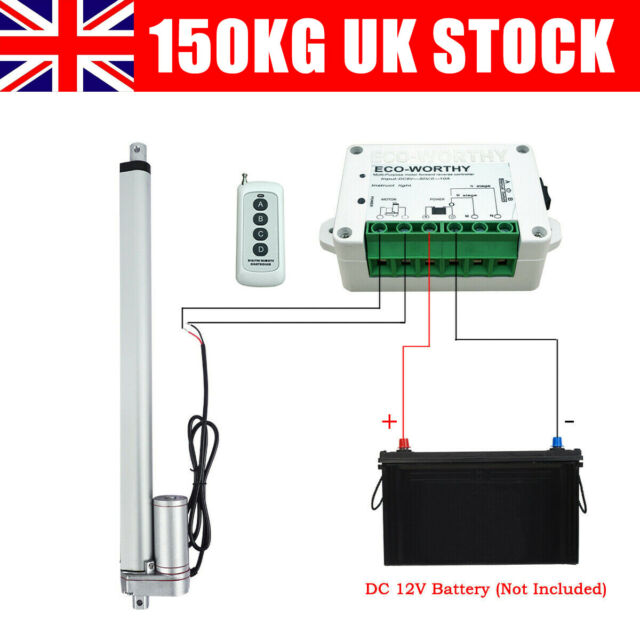 New Arrival Electric Motor Controller 12V//24V DC Remote Control Linear Actuator