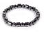 Black-Magnetic-Hematite-Bracelet-Bangle-Beads-Pain-Relief-Therapy-Arthritis thumbnail 1