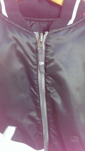 Sort Snowboard Ride Rød Baseball Størrelse Reversible Hvid Kvinder Jacket Medium Z0qSAdcqr