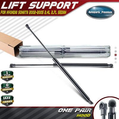Set of 2 Hood Lift Supports Shocks fit 4383 Hyundai Sonata 2002-2005