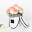 Cajas-de-flores-ramo-de-tipo-de-mano-redonda-Living-jarrones-floristeria-Flor-Planta-Cajas miniatura 4